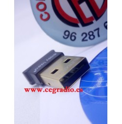 Adaptador inalámbrico Bluetooth USB V4.0 para PC