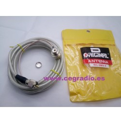 D-Original Cable Coaxial Baja Perdida RC-5MS-4 Vista Completa