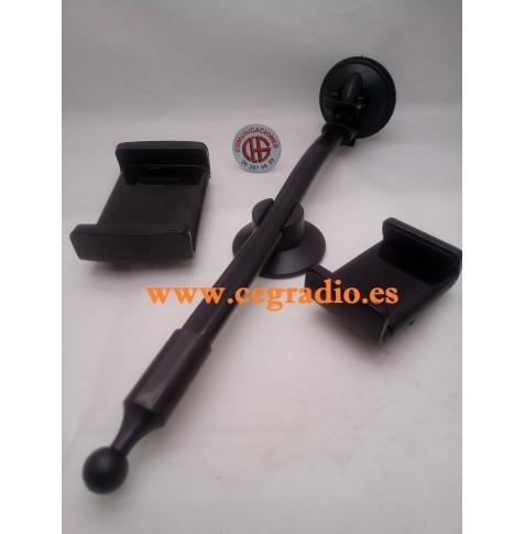 """Soporte Ventosa Largo para Teléfono Celular GPS Tablet 5"""" 7"""""""