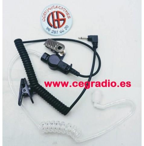 Auricular Jetfon JR-ET4-2.5 Jack 2.5mm Vista General