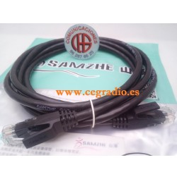 2m SAMZHE Cable RJ45 Cat6 Ethernet Redes LAN PC PS3 PS4 XBox