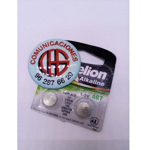 Pila botón Camelion AG7 LR926 LR57 SR927W 395 GP95A