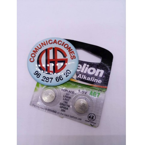 Pila botón Camelion AG10