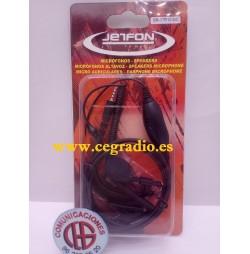 Jetfon BR-17R10 E-C Micro Auricular Dynascan R10 1 Pin Vista Blister