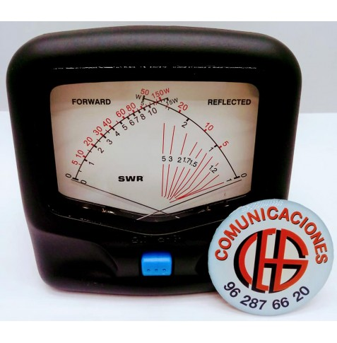 Telecom SX-20 Medidor HF VHF Vista Frontal