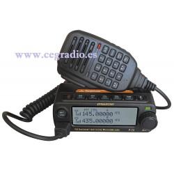 DYNASCAN P-72 Emisora Doble Banda VHF UHF Vista Frontal