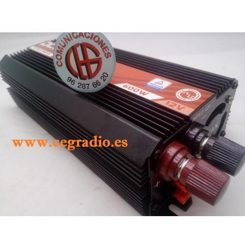 Inversor Onda Modificada DCU600 12V/ 600W
