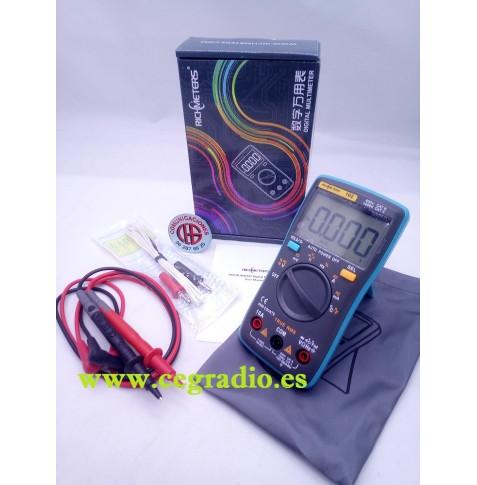 Multimetro Digital Richmeters RM102 Vista General
