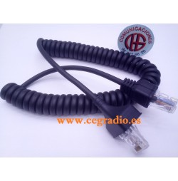 Cable Micrófono Para Radio Kenwood TK-868G-885 TM-271-471 Vista General