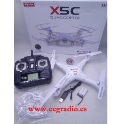 Syma X5C Explorers Dron QuadCopter Vista General