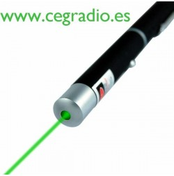 Puntero Laser Verde Vista Frontal