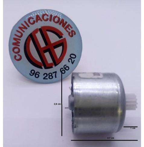 310 Micro Motor Electrico DC 3V-6V 3800 a 7200 rpm Vista Horizontal