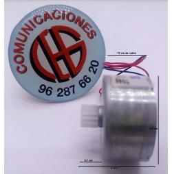 Micro Motor Electrico 3V-6V 3800 a 7200 rpm Vista Horizontal