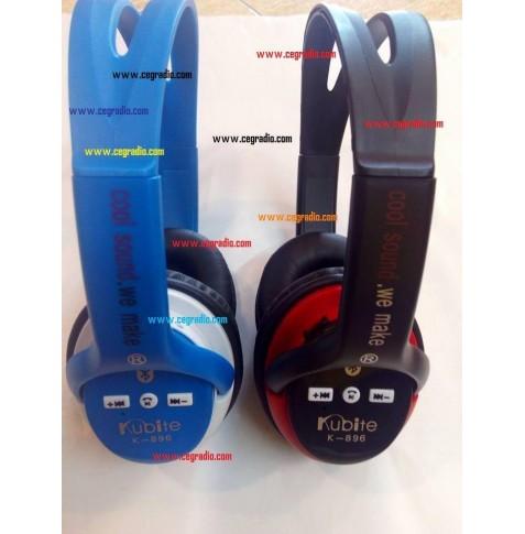 K896 Casco Auricular Bluetooth Wireless