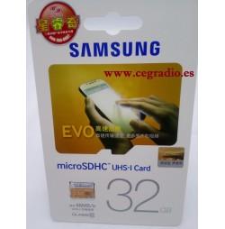 Samsung MicroSDHC EVO class10 32GB