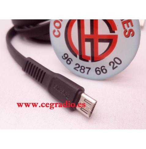 1m Baseus Cable Carga Datos Micro USB Type-C Samsung iPhone X, 6, 7, 8 Vista Micro USB