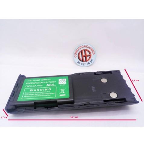 Batería AP-300H Para Motorola GP88 GP300 GP600 Vista Medidas