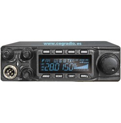 Anytone AT-6666 Emisora 10m Vista Frontal
