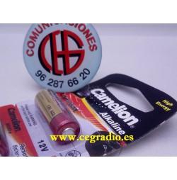 Pila Alcalina GP23A 12V Vista Frontal