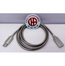 1m Golf Cable USB Metal Aleación Zinc vista aerea