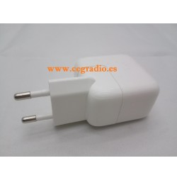 Cargador Pared USB 2.1A iPhone Samsung