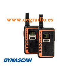DYNASCAN SF22 WALKIES PMR 446 USO LIBRE Vista Frontal