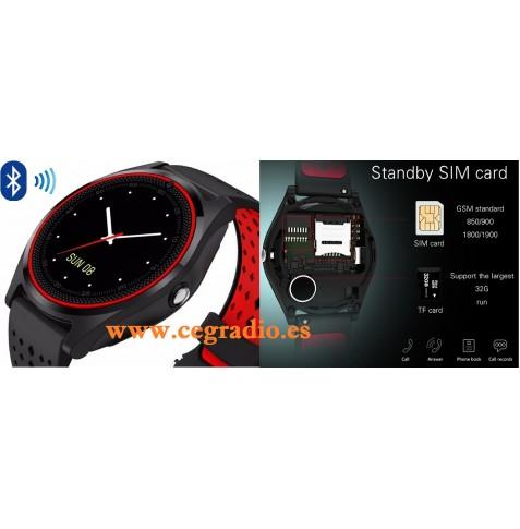 Smart Whatch V9 Reloj Inteligente Bluetooth Vista General