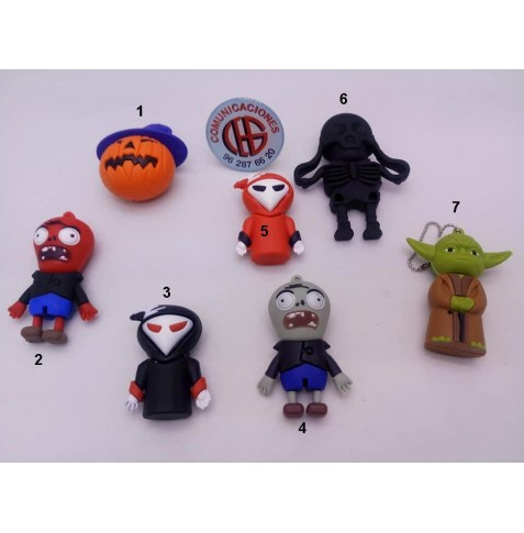 OFERTA USB´S 8 GB CARTOONS enumerados