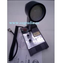 ZETAGI MB+5 MICROFONO SOBREMESA AMPLIFICADO ROGER BEEP Vista Superior