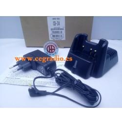 YAESU Vertex CD-34 Cargador Rapido Sobremesa VX-231 VX-350 VX-351 VX-354 Vista General