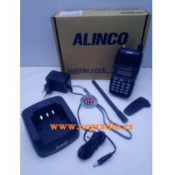 ALINCO DJ-175E Walkie VHF 2m 144-146Mhz Vista General