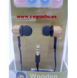 Micrófono Auricular Madera KM-92