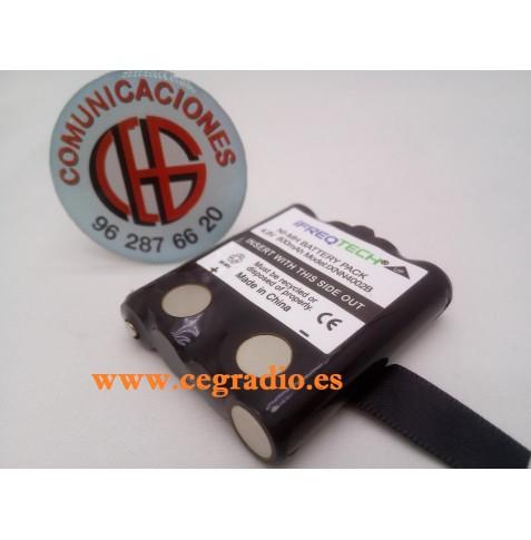 IFREQTECH IXNN4002B Bateria 800 mAh Ni-MH MOTOROLA TLKR T80 T5 T6 Vista General