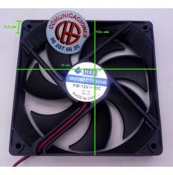 Ventilador C12025B medidas