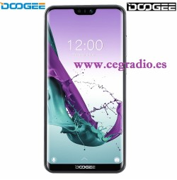 DOOGEE N10 Smartphone 3GB RAM 32GB ROM 5,84 Pulgadas FHD Android 8.1 Vista Frontal