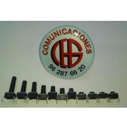 Interruptor Pulsador Tactil 6x6 mm