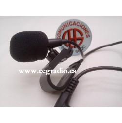 3m Microfono Externo Jack 3.5mm Manos Libres DVD Radio GPS Vista Superior