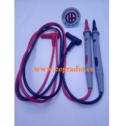 CLEQEE Sondas Cable Multimetro Vista General