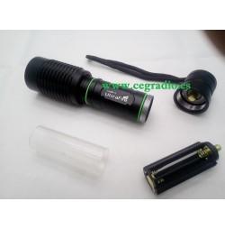 Linterna LED CREE T6 1600 Lm