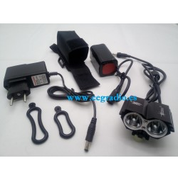 Linterna Bici CREE XM-LT6 3000 Lm