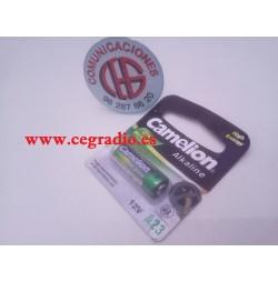 Pila Alcalina GP23A 12V Vista Completa