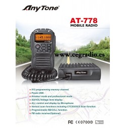 ANYTONE AT-778 Emisora VHF