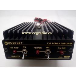 MICROSET R50 Amplificador VHF