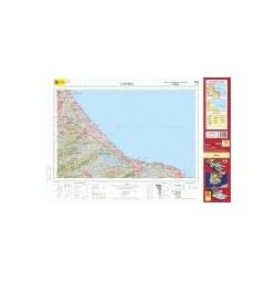 Mapa Militar 796 Gandia
