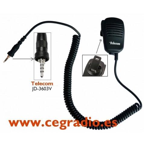 MicroAltavoz JD-3603V