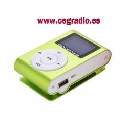 MP3 para tarjeta de 16GB