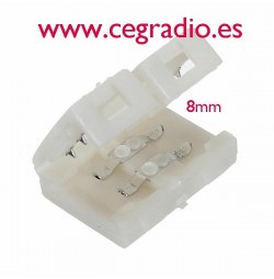 Conector empalme tira de led 5050 8mm
