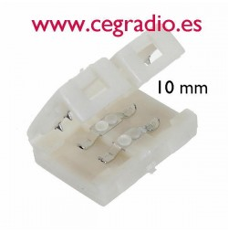 Conector empalme Tira Led 5050 /10mm