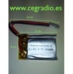Bateria recambio Dron FP0300