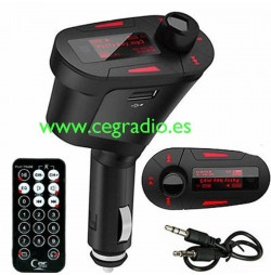 Transmisor de FM MP3